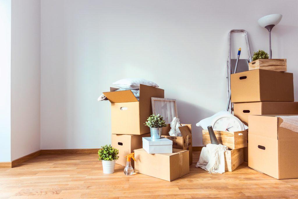 Kisten packen, Verträge kündigen – bei einem Umzug gibt es viel zu erledigen.
