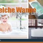 Acryl, Stahl Emaille oder Mineralguss Badewanne?